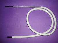 Шланг(трубка)силиконовая AMY DeLuxe Aluminium Long длинный   Белый