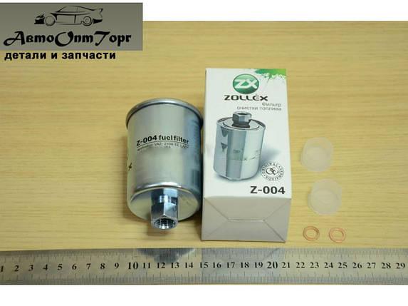 Фільтр палива ВАЗ 2110, 2111, 2112 Zollex 004 гайка., фото 2