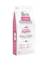 Brit Care (Брит Кеа) Puppy Salmon and Potato Беззерновой корм для щенков с лососем и картофелем 3кг