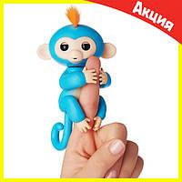 Интерактивная обезьянка Fingerlings (Голубая), фото 1
