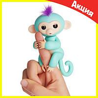 Интерактивная обезьянка Fingerlings (Зеленая), фото 1