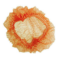 Шапочка нетканая Ampri Med Comfort 04020-M 1000 Штук 10 УП одноразовая оранжевая