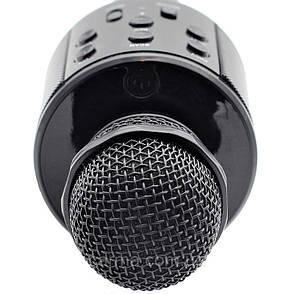 Беспроводной Bluetooth микрофон для караоке KTV-858 Черный (1em_004482), фото 2