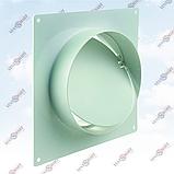 Соединитель настенный с обратным клапаном для круглых каналов ПЛАСТИВЕНТ, фото 2