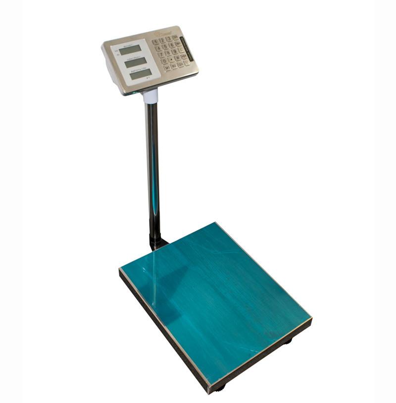 Складские товарные напольные электронные весы Domotec с платформой из нержавеющей стали до 350 кг