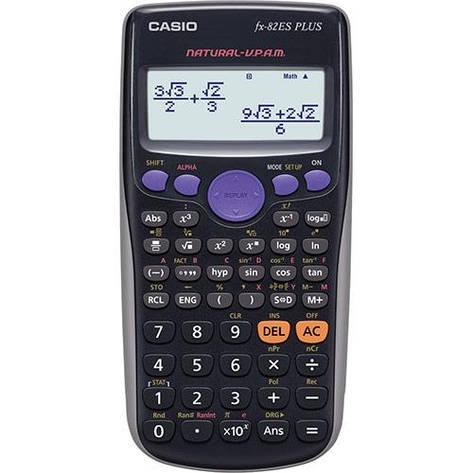 Калькулятор Casio FX-82SPLUSBKSBEHD научный, фото 2