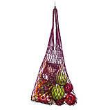 Сумка-шопер - Авоська - Эко-сумка - Летняя сумка - Пурпурная (фиолетовая) сумка, фото 3