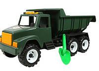 Машина Гигант Интер Орион 184А Зеленая с Лопаткой в Пакете