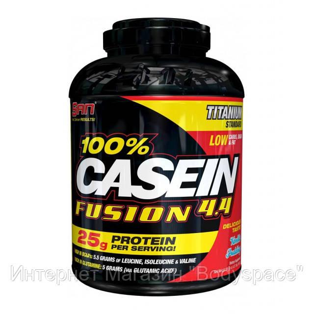SAN Nutrition, Протеин 100% Casein Fusion, 2000 грамм