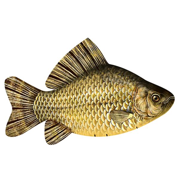 Антистрессовая подушка-игрушка «Рыба Карась» (малый). Размер: 50*30 см.