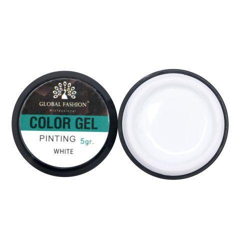 Color gel 5 ml білий 1шт K14