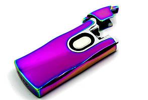 Стильная электроимпульсная USB зажигалка Хамелеон (200496), фото 2