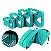 Комплект дорожных органайзеров для путешествий P.travel, зеленый (PT104)