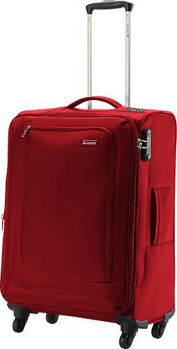 Тканевый практичный средний чемодан 66/77 л. Carlton Clifton 901J468;22 красный