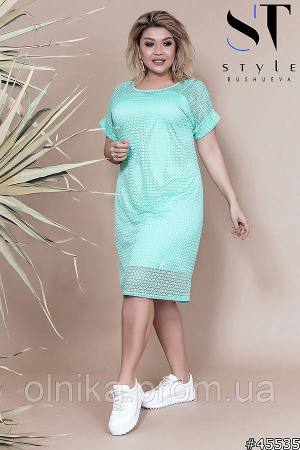 Платье  45535 размер 54