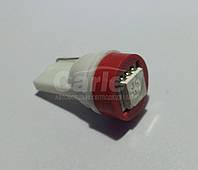 Светодиодная автолампа Т10, RED 1pcs 5050 (Foton)