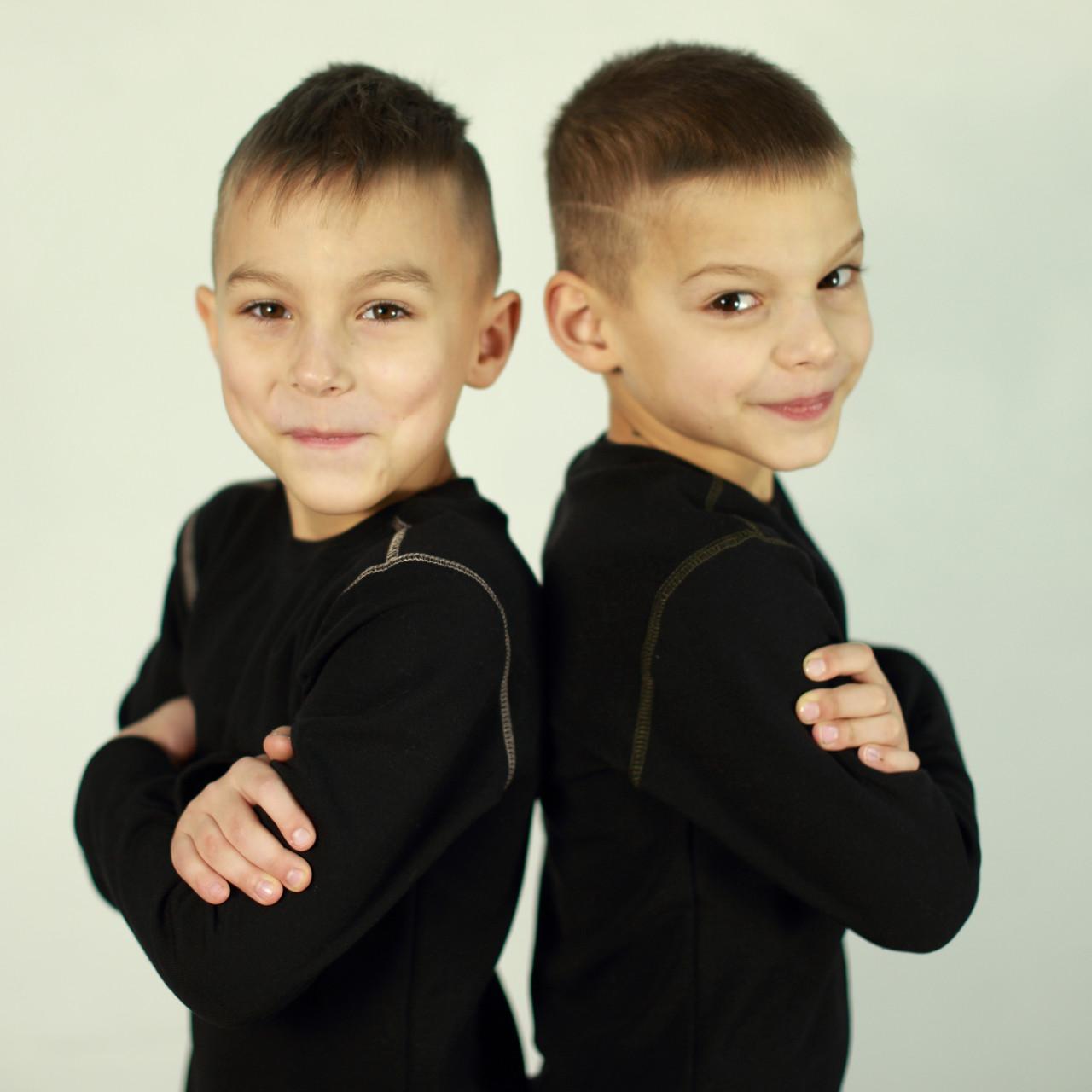 Детский поддевочный костюм для мальчика Детское термобелье (поддева) Капучино  Поддевочний костюм для хлопчика