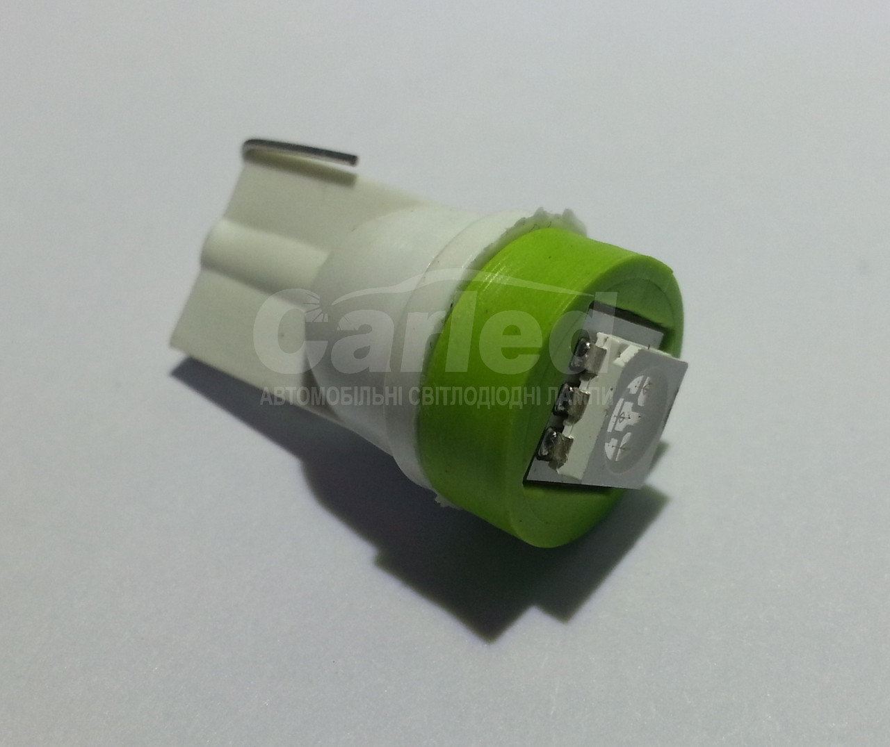 Світлодіодна автолампа Т10, GREEN 1pcs 5050 (Foton)