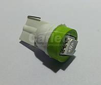 Светодиодная автолампа Т10, GREEN 1pcs 5050 (Foton)