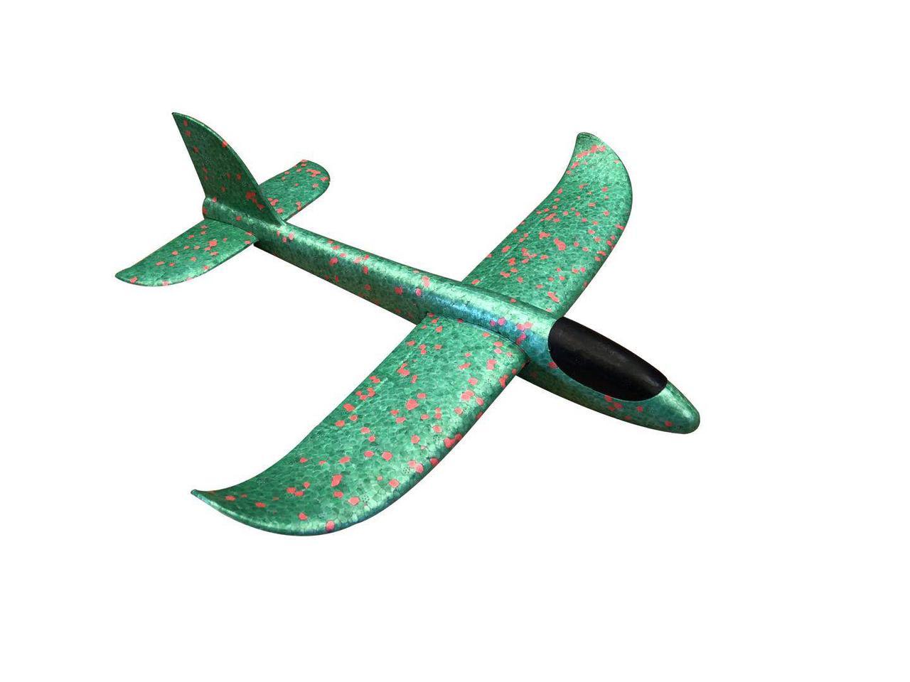 Детский самолет-планер 48х46 см Зеленый (6755-4)