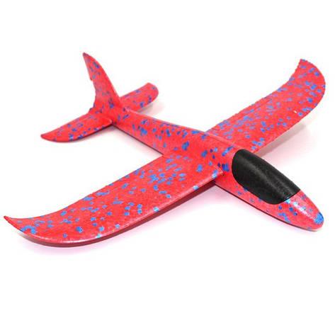 Детский самолет-планер 35х30 см Красный (8876-2), фото 2