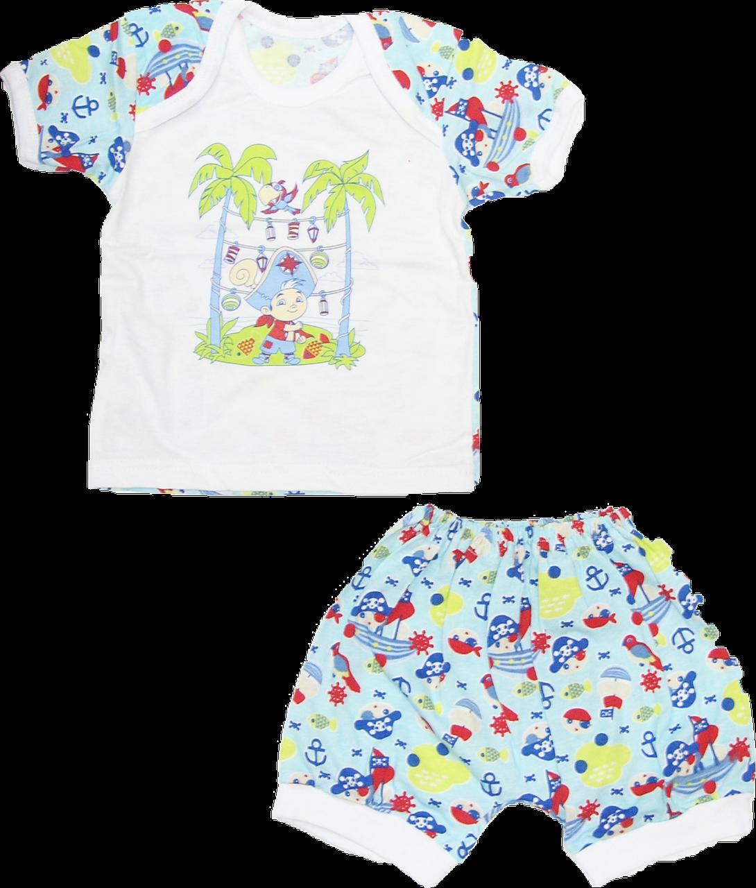 80212417305e8 Детский летний костюмчик комплект для мальчика футболка, шортики, хлопок ( кулир) р.