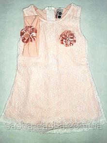 Нежное платье детское