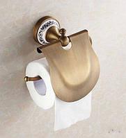 Держатель для туалетной бумаги DECO-2 DB033 Бронза, фото 1