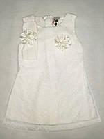 Нежное нарядное платье детское для малышек