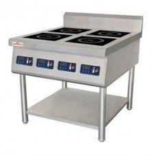 Плита 4-х конфорочная, индукционная промышленная SL-35-KP-4-N
