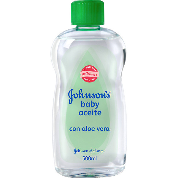 Масло для тела JOHNSON'S BABY Aloe 500 мл