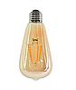 Светодиодная лампа Эдисона 4Вт Е27 ST64 золото 2700K