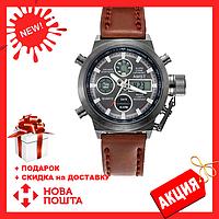 Мужские наручные армейские часы AMST Watch | кварцевые противоударные часы