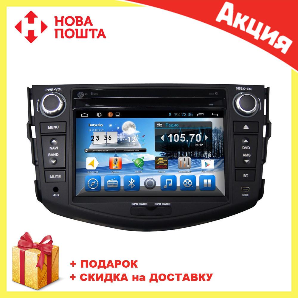 Штатная автомагнитола с GPS навигацией для автомобилей Toyota RAV4 2006-2012