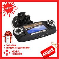 Автомобильный видеорегистратор Double 3 в 1 2 камеры + GPS   авторегистратор   регистратор авто