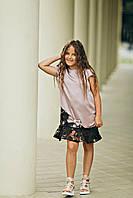 Праздничное летнее платье для девочки