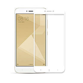 Защитное стекло Andser на весь экран для Xiaomi Redmi 4x цвет Белый