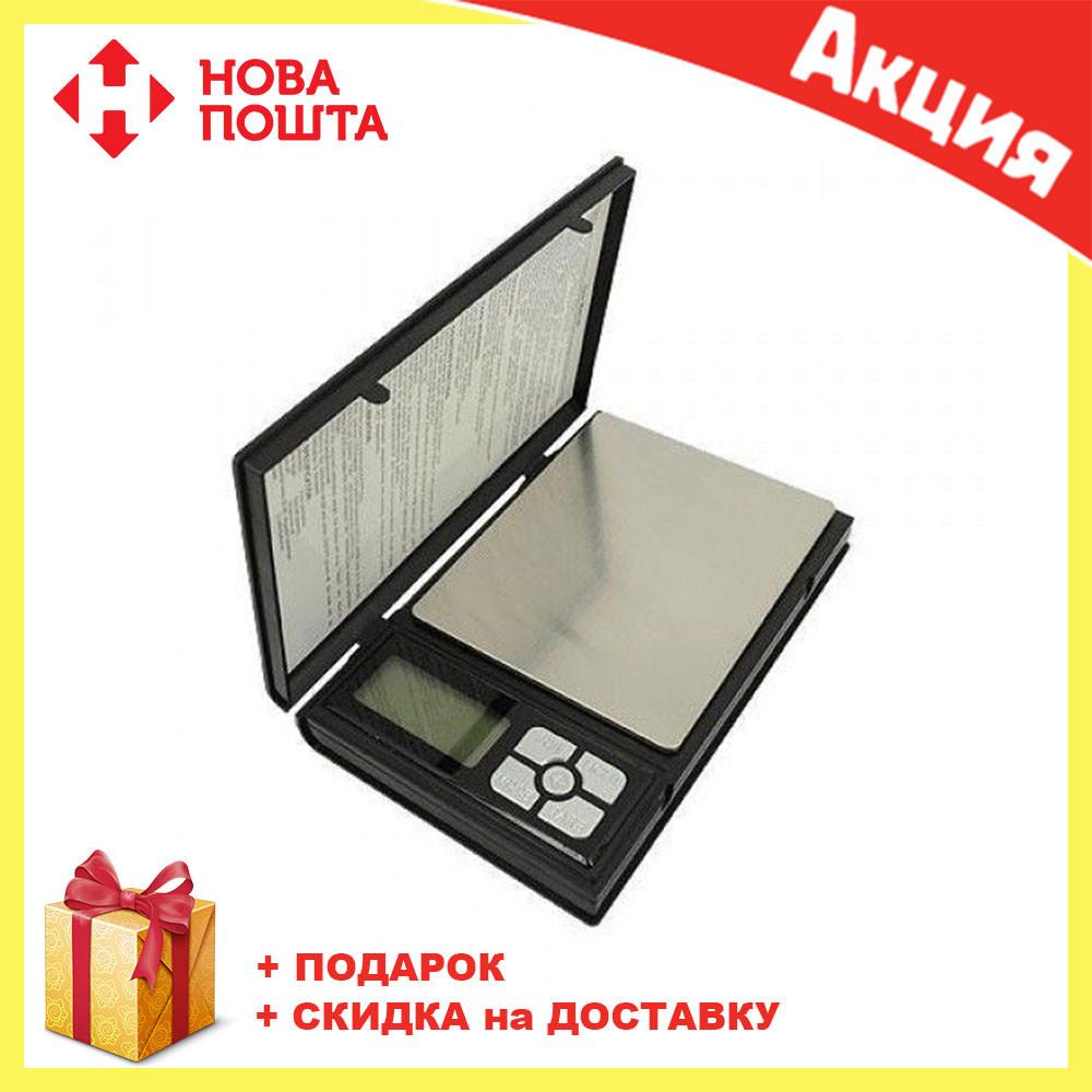 Ювелирные электронные весы книжка  Notebook 1108-2 2000gr/0.1g