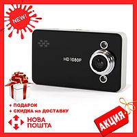 Автомобильный видеорегистратор DVR K6000 B без HDMI | качественный регистратор для авто