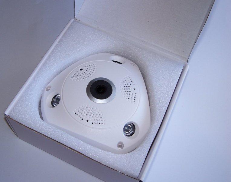 Панорамная IP Камера Видеонаблюдения Потолочная CAD 1317 VR CAM 3D Wi-Fi DVR, фото 1