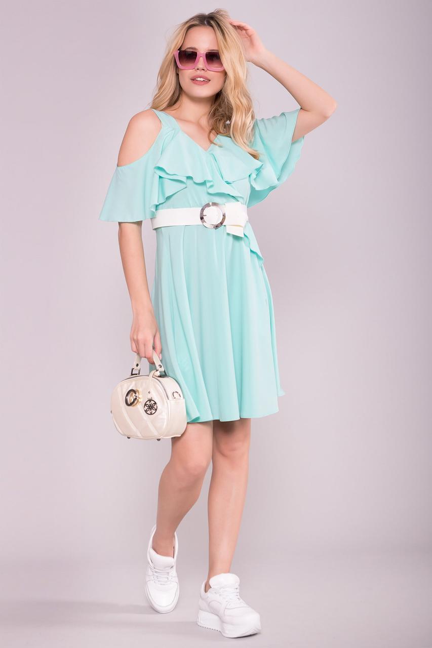 Летнее молодежное платье Сандра