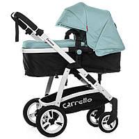 Коляска прогулочная CARRELLO Fortuna CRL-9001 Arctic Blue 2в1 c матрасом