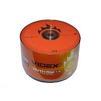 Диски DVD+RW 50 шт. Videx, 4.7Gb, 4x, Bulk Box
