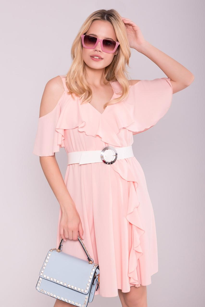 Летнее молодежное платье Сандра-1