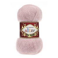 Пряжа Alize Kid Mohair Royal 161 пудра (Ализе Кид Мохер Роял 50)