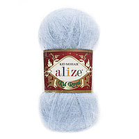 Пряжа Alize Kid Mohair Royal 183 светло-голубой (Ализе Кид Мохер Роял 50)