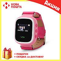 Детские Смарт-часы Smart baby Watch Q60 РОЗОВЫЕ, фото 1