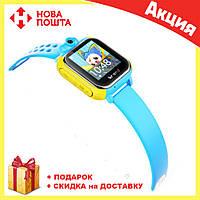 Детские смарт-часы Smart Watch TW6-Q200 (3 цвета) СИНИЕ, фото 1