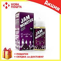 Жидкость для электронных сигарет с никотином Jam MonsterGrape mix 100ml, фото 1