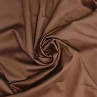 Сатин коричневый ширина 240 см (Пакистан)